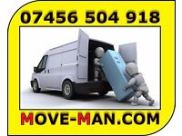 07456 504 918 (MAN and VAN) 24/7 - Collections/Deliveries, Furniture Moves, Courier Service.