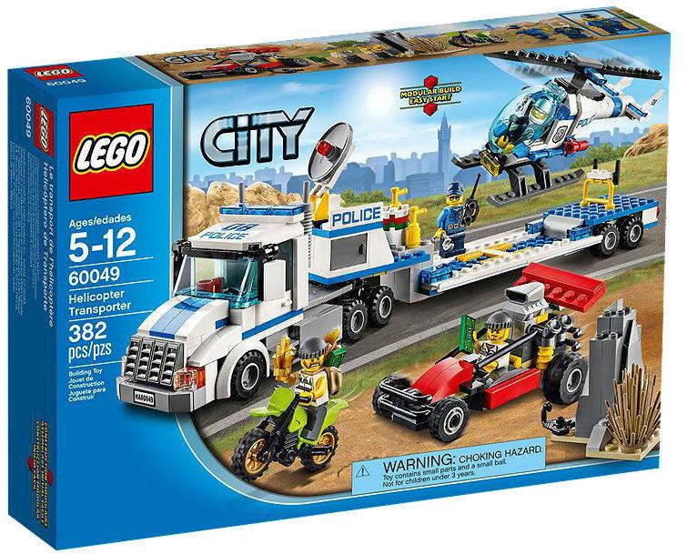 Lego City Helicopter Transporter 60049 Ebay