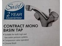 Bathroom Basin Mixer Tap with plug