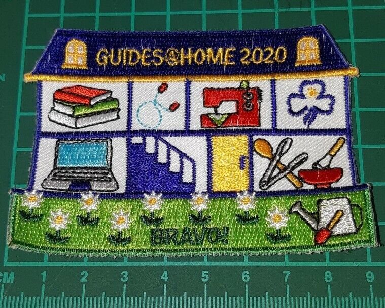 Girl Guides, Guides at home 2020  badge
