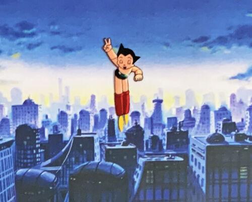 LARGE Astro Boy - Original Anime Animation Production Cel - Atom 99