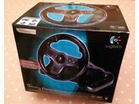 Logitech Driving Force Wireless PS3/PS4 Steering Wheel