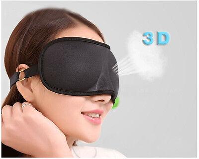 3D Schlafmaske Augenmaske Schlafbrille Nachtmaske eye mask Augenbinde