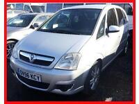Vauxhall/Opel Meriva 1.7CDTi 16v Active + DIESEL + MANUAL + A/C