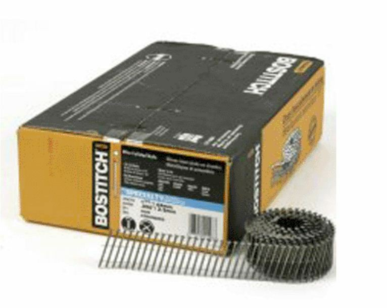 """Bostitch C3R90BDSS Coil Framing Nail 1-1/4"""" Stainless Steel"""