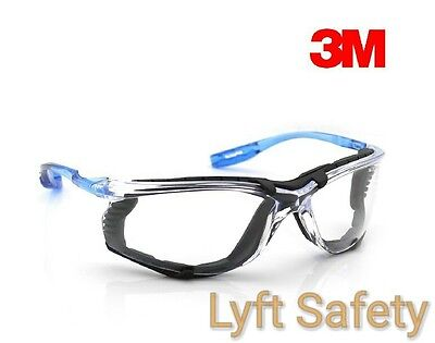 3m Virtua Ccs Safety Glasses Foam Gasket Clear Anti Fog Lens Eye 11872-00000-20