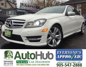 2012 Mercedes-Benz C-Class C 300-BACKUP CAMERA-PANORAMIC ROOF-NA