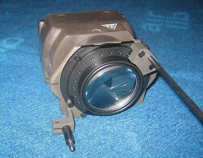 Objektiv mit Irisblende aus militärischem Nachtsichtgerät mit 3 Linsen  Zeiss #2