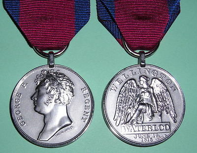 Waterloo Medal Copy