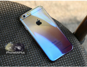 Exclusive Ultra Thin gradient color reflection iPhone case 6/6s