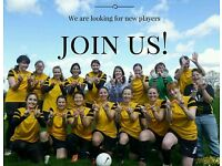 Looking for new players: Womens Football Team (11-a-side) competitive league.