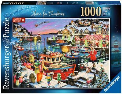 RAVENSBURGER PUZZLE*1000 TEILE*HOME FOR CHRISTMAS*WEIHNACHTEN*RAR*OVP