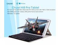 """hi8 pro Windows 10 Intel Cherry Trail-T3 Z8300 2GB RAM 32GB ROM Quad Core 8"""" Tablet PC with Keyboard"""