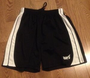 Black & White Sports Shorts