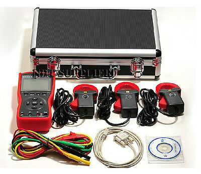 Brand New Etcr4400 Three Phase Digital Phase Volt-ampere Meter Tester 40mm