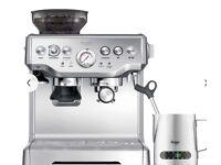 Sage by Heston Blumenthal Barista Express Bean to cup Coffee Machine