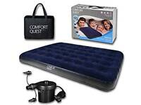 Double Airbed Inflatable Mattress & Electric Pump