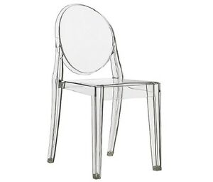 TRANSPARENT GHOST EVENT CHAIR DINING CHAIR ARMCHAIR