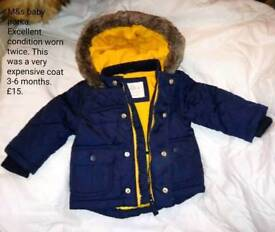 New condition M&s baby parker