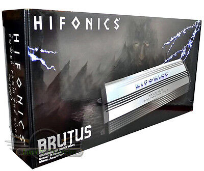Hifonics BRX3016.1D 3000W RMS 6000W Max Super Class D Brutus Monoblock Car Amp, used for sale  Shipping to South Africa