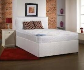 EXCLUSIVE OFFER! FAST Free Delivery! Brand New Looking!Double (Single, King Size) Bed + Mattress!