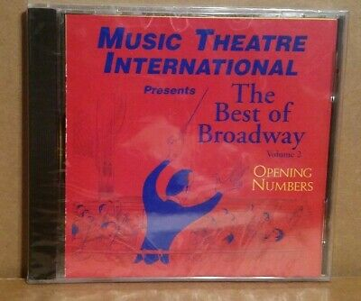 The Best Of Broadway Opening Numbers Vol 2 Rare Promotional Compilation CD