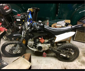 125cc upgraded pitbike