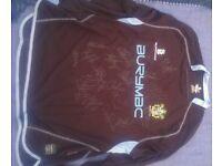 Signed Bury Football Shirt