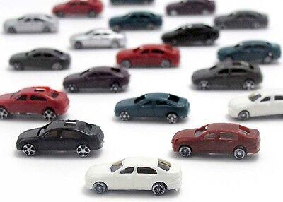 20 Modell Autos PKW Auto Modellbau Modelleisenbahn 1:200 Spur Z