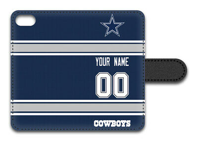 NFL Dallas Cowboys Personalized Name/Number iPhone iPod Wall