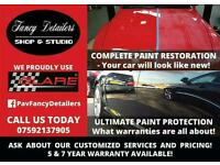 Detailing, paint corrections, renovations & liquid glass protection coatings from USA