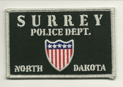 Colorful Surrey Police State North Dakota SD
