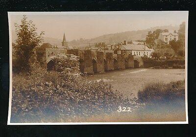Wales Brecknockshire CRICKHOWELL Judges Proof #322 1950/60s photo