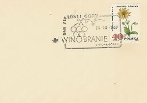 Poland postmark ZIELONA GORA - grape harvest 1967 - <span itemprop=availableAtOrFrom>Bystra Slaska, Polska</span> - Poland postmark ZIELONA GORA - grape harvest 1967 - Bystra Slaska, Polska