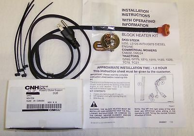 New Holland Ford Diesel Tc Tractor Series Diesel Engine Block Heater