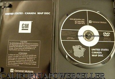 GM NAVIGATION MAP DVD 25850927