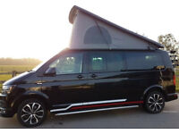 Campervan Volkswagen Transporter 4 Berth Tailgate Long Wheel Base