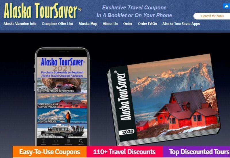 Alaska TourSaver Books - Used - Travel & SAVE!