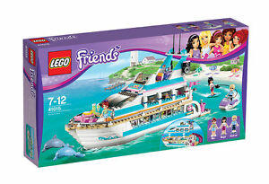 LEGO Friends Yacht Dolphin Cruiser 41015 Vollständig