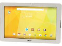 Brand New Acer Iconia B3-A20, 10-inch Tablet, Quad Core, 1GB RAM, 16GB - White. BNIB