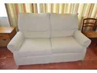 2 seater sofa with matching armchair