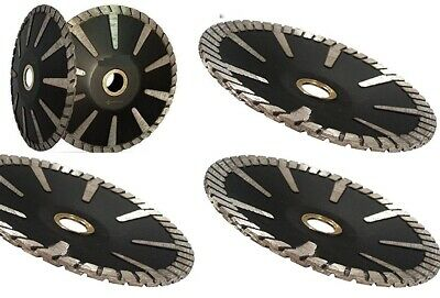 5 Diamond Turbo Convex Saw Blade 42 Pieces Granite Concrete Stone Sink Cutter