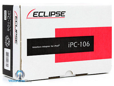 Eclipse Ipc-106 Ipod Interface For Car Stereo Cd Dvd Tv Cd5100 Cd7200 Cd3000 on Sale