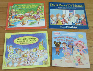 Livres FIVE LITTLE MONKEYS books