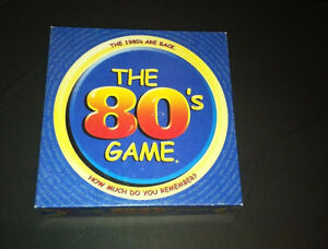 """""""The 80's Game"""" Trivia game...How Much Do You Remember? London Ontario image 1"""