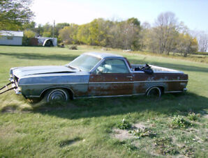 1969 Ford Ranchero projects