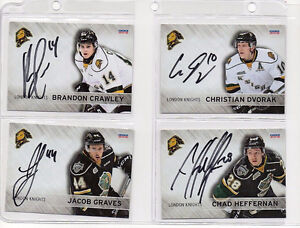 London Knights Autograph Album by the whole team. London Ontario image 7
