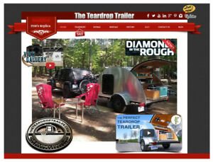 Teardrop Trailer - Diamond in the Rough