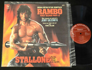"Rambo First Blood II Original Motion Picture Soundtrack 12""Vinyl"