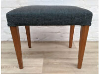 Mid Century Dressing Table Stool (DELIVERY AVAILABLE)